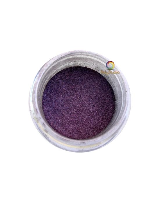 Pearl Ex powder jar Shimmer Violet