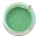 Pearl Ex powder jar Emerald