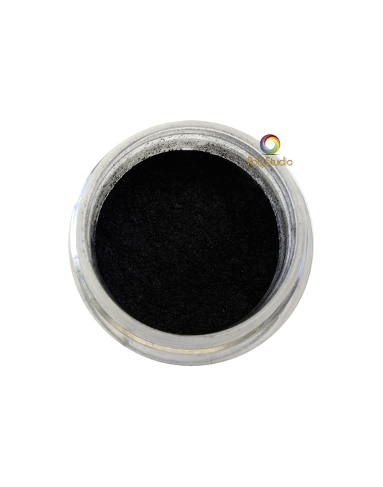 Pearl Ex powder jar Carbon Black