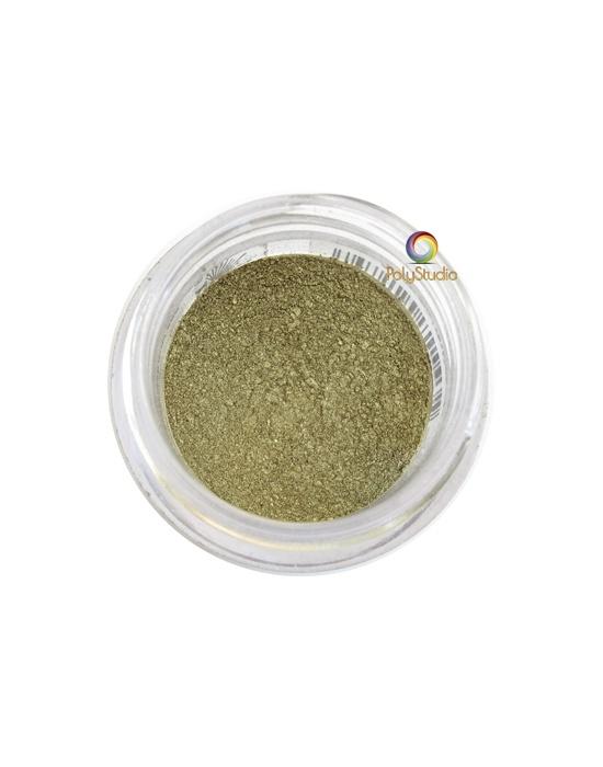Pearl Ex powder jar Antique Gold