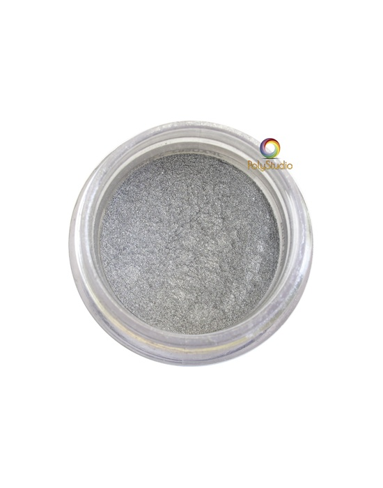Pearl Ex powder jar 3 g Silver