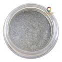 Pearl Ex powder jar Silver
