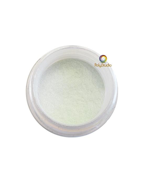 Pearl Ex powder jar Interference Green