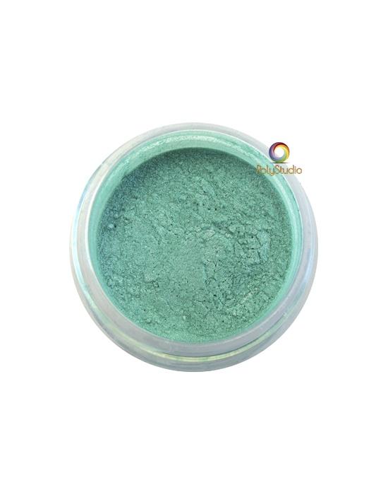 Pearl Ex powder jar 3 g Duo Green Purple