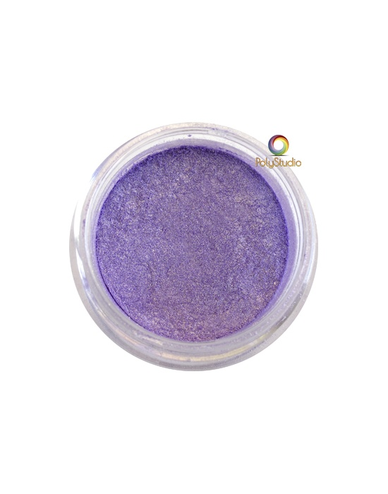 Pearl Ex powder jar Duo Violet Brass