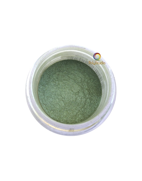 Pearl Ex powder jar Spring Green
