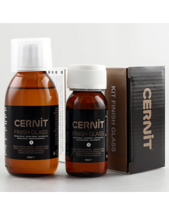 Kit Finish Glass Cernit