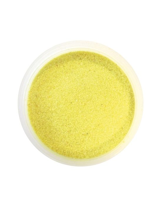 Colored sand Yellow 1,6 oz