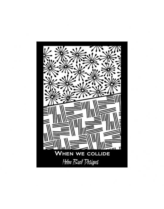 H. Breil silk screen When we collide