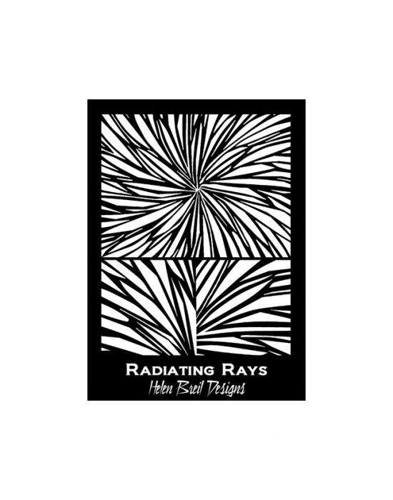 Écran de sérigraphie H. Breil Radiating rays