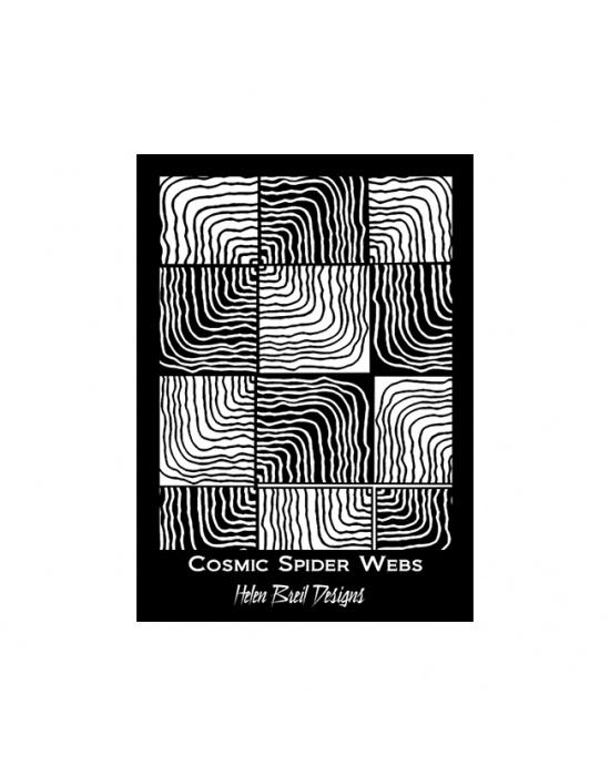 Écran de sérigraphie H. Breil Cosmic webs