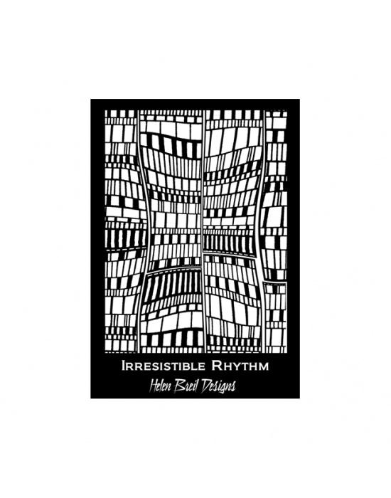 Écran de sérigraphie H. Breil Irresistible rythm