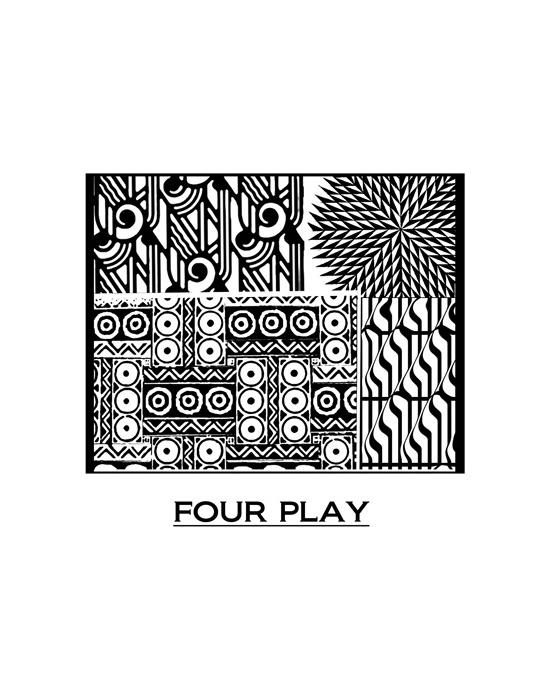 Texture Pixie Art Four Play