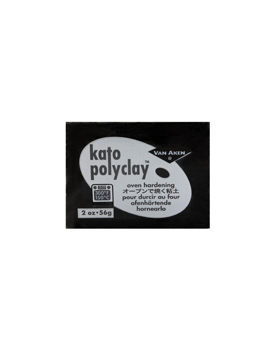 KATO Polyclay 56 g Noir