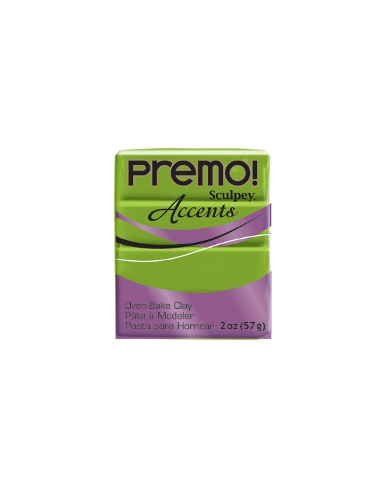 Premo! Accents 57 g 2 oz Bright Green Pearl Nr 5035