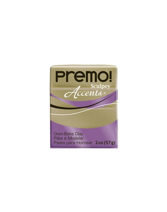 Premo! Accents 57 g Paillettes Or Jaune N° 5147