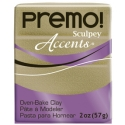 Premo! Accents 57 g 2 oz Yellow Gold Glitter Nr 5147
