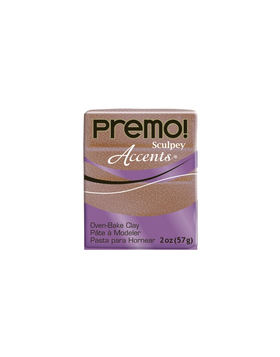 Premo! Accents 57 g Paillettes Or Rose N° 5135