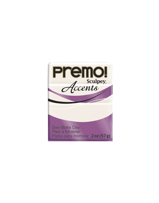 Premo! Accents 57 g 2 oz White pearl Nr 5101