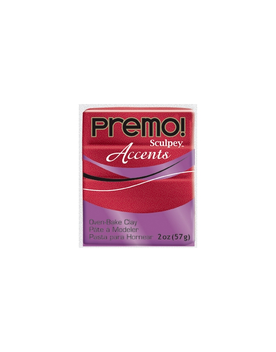 Premo! Accents 57 g 2 oz Red Glitter Nr 5051