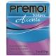 Premo! Accents 57 g 2 oz Blue Glitter Nr 5049