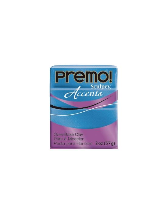 Premo! Accents 57 g Paillettes Bleu N° 5049