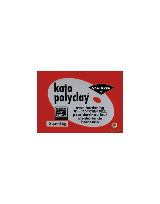 KATO Polyclay 56 g Red