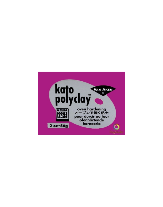 KATO Polyclay modeling clay 56 g (2 oz) Magenta