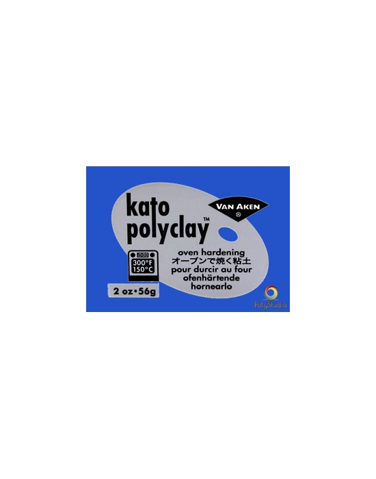 KATO Polyclay modeling clay 56 g (2 oz) Ultra Blue