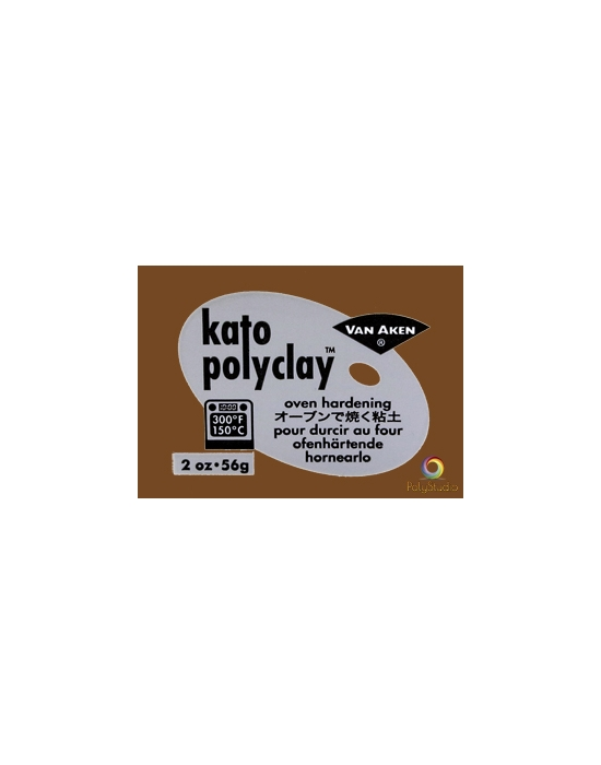 KATO Polyclay 56 g (2 oz) Brown