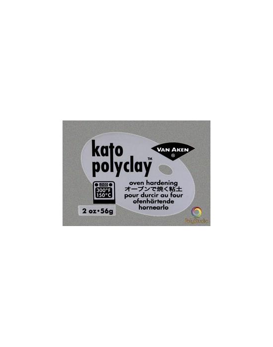 KATO Polyclay 56 g Métallique Silver