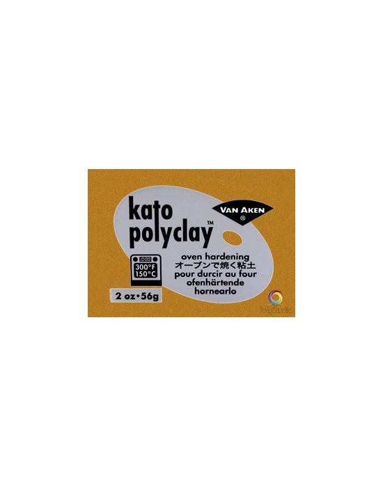 KATO Polyclay 56 g (2 oz) Gold metal