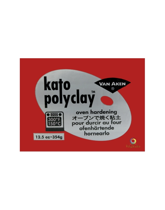 KATO Polyclay 354 g Rouge