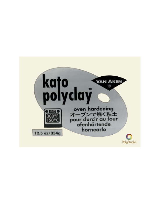 KATO Polyclay 354 g (12.5 oz) Translucent
