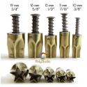5 emporte-pièces Kemper Étoiles 10 à 19 mm