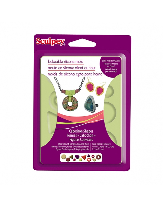 Sculpey Silicon bakeable mold Cabochons