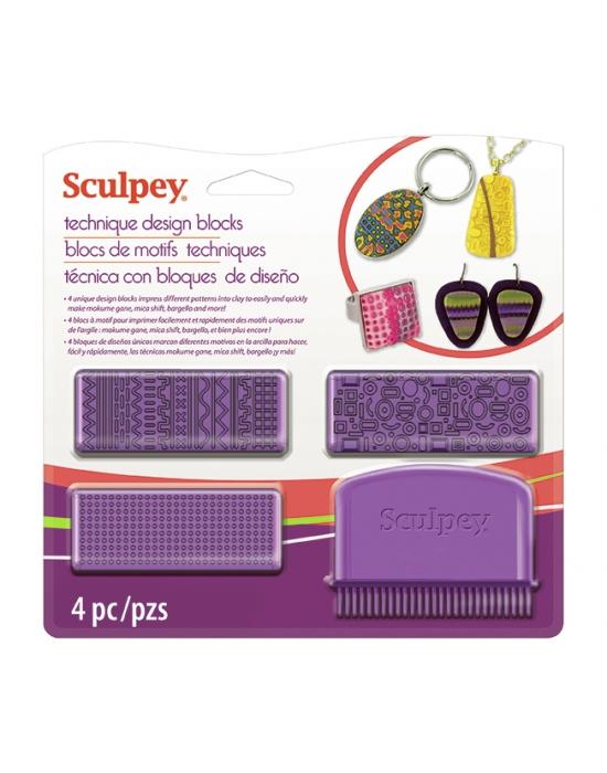 Sculpey Technique Design blocks