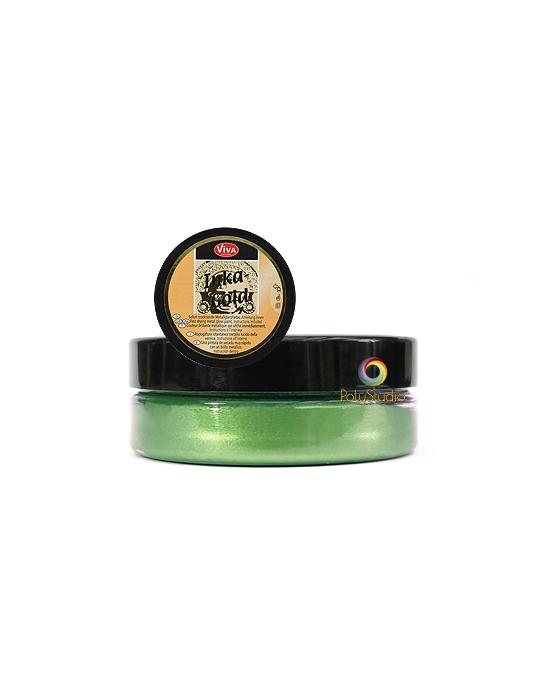 Inka-Gold cire patine Vert jade