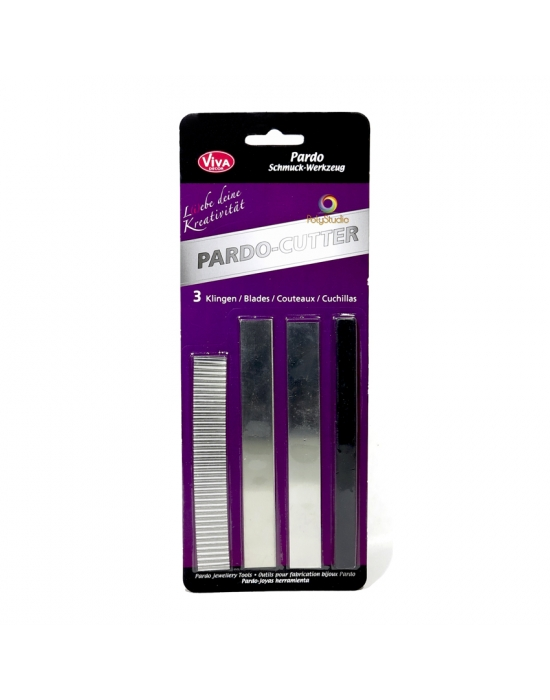 Set of 3 Pardo blade