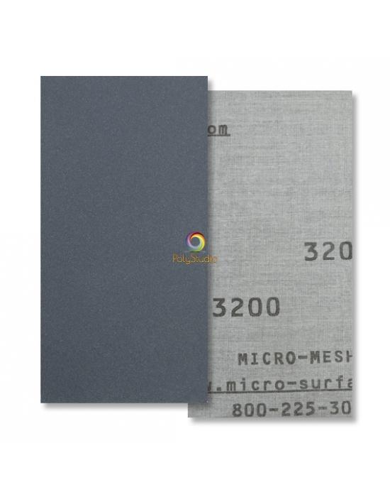 Toile abrasive à l'eau Micro-Mesh grain 3200