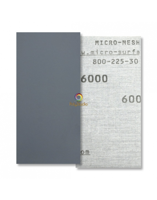 Toile abrasive à l'eau Micro-Mesh grain 6000