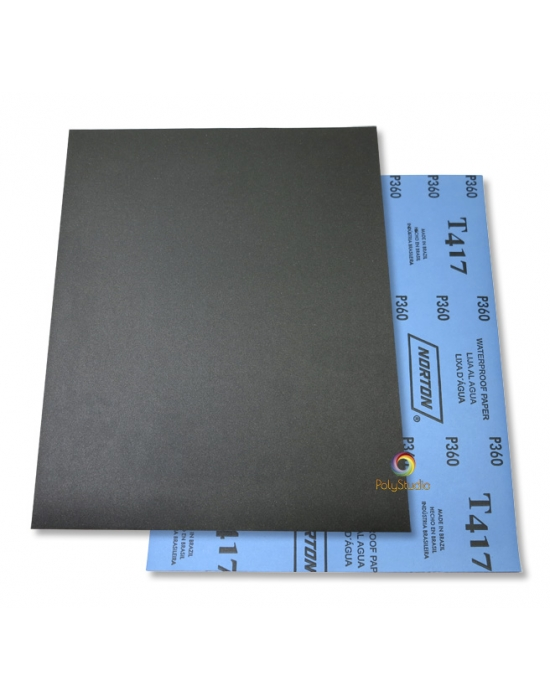 5 Waterflex sanding paper sheets grit 360