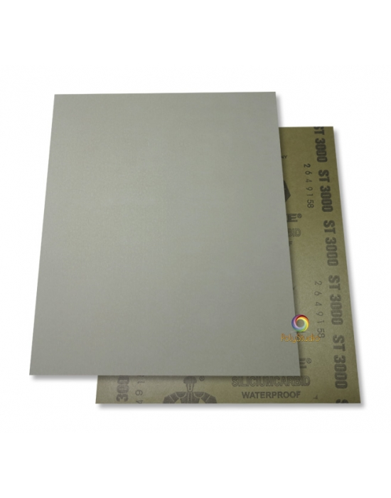 2 Waterflex sanding paper sheets grit 3000