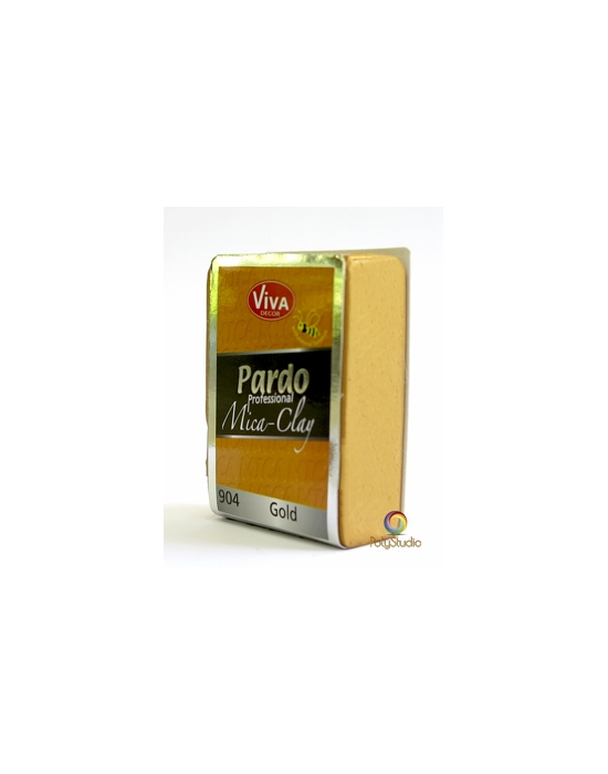 PARDO Mica-clay 56 g (2 oz) Gold