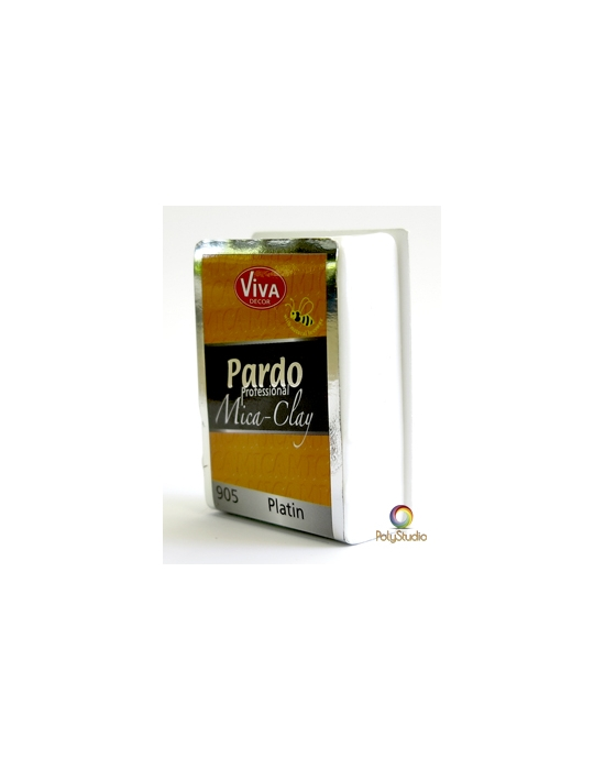 PARDO Mica-clay 56 g (2 oz) Platinum