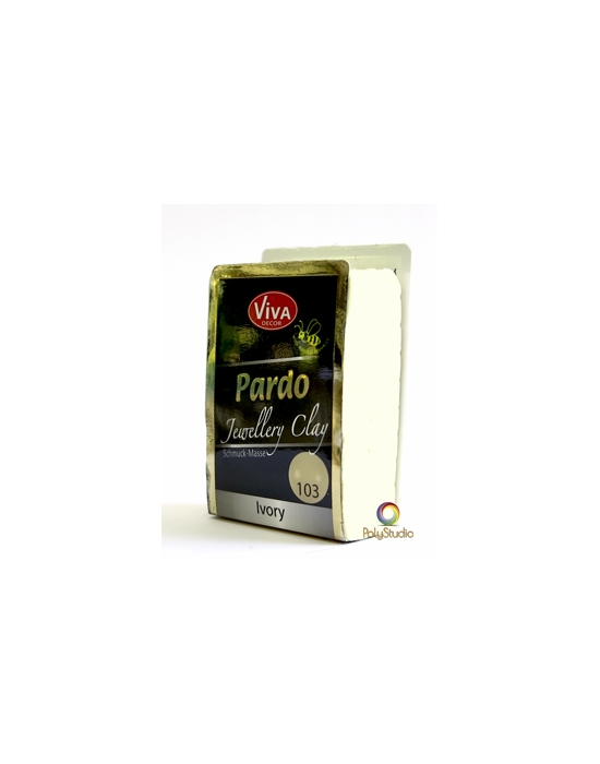 PARDO Jewelry-clay 56 g Ivoire