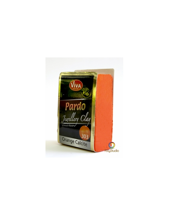 PARDO Jewelry-clay 56 g (2 oz) Orange Calcite
