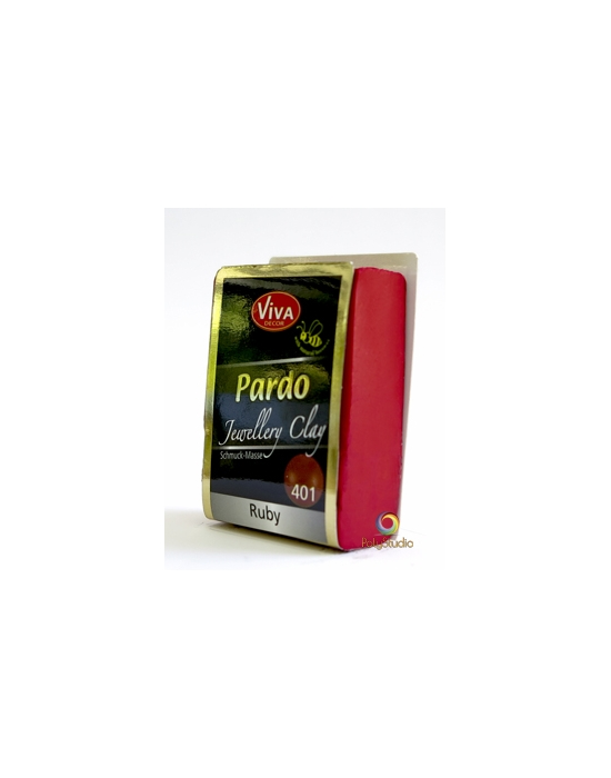 PARDO Jewelry-clay 56 g Rubis