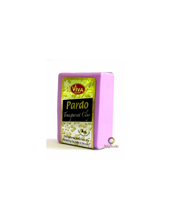 PARDO Transparent-clay 56 g (2 oz) Pink