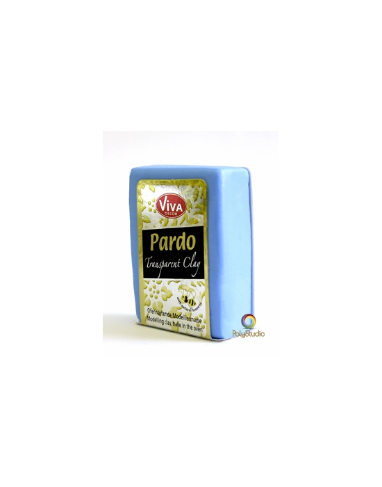 PARDO Transparent-clay 56 g Bleu clair